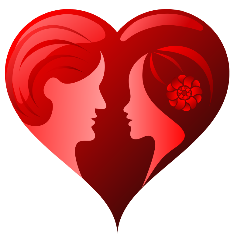 Couple heart png. Image