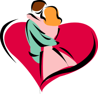 Couple heart png. Transparent images all