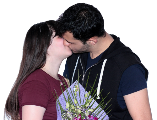 Couple kissing png. Transparent image pngpix