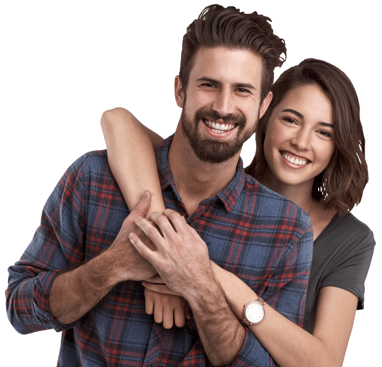 Couple posing png. Is hormone health right