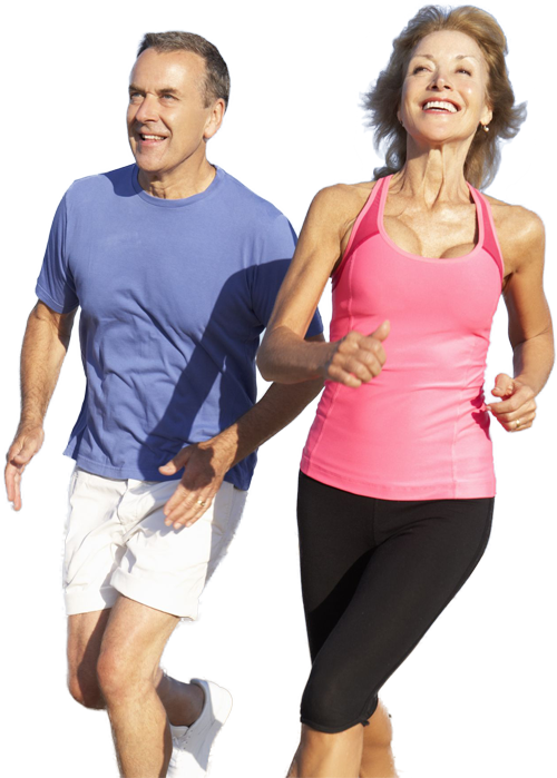 couple running png