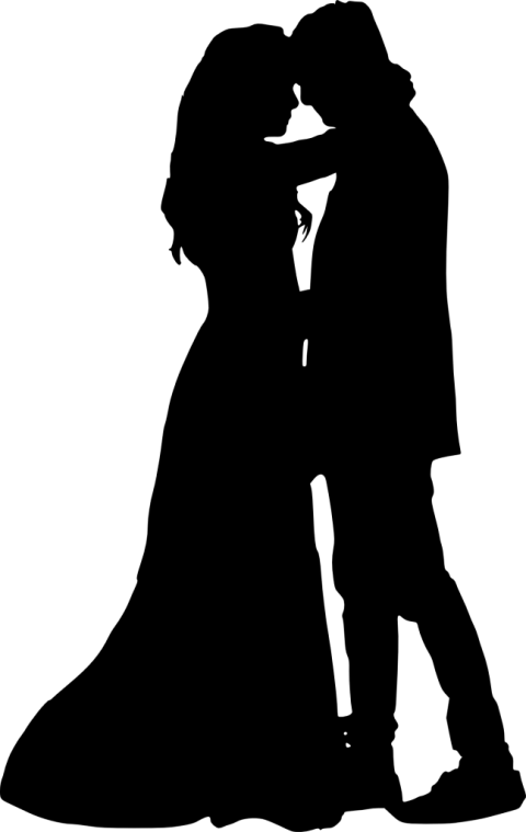 Couple silhouette png. Free images toppng transparent