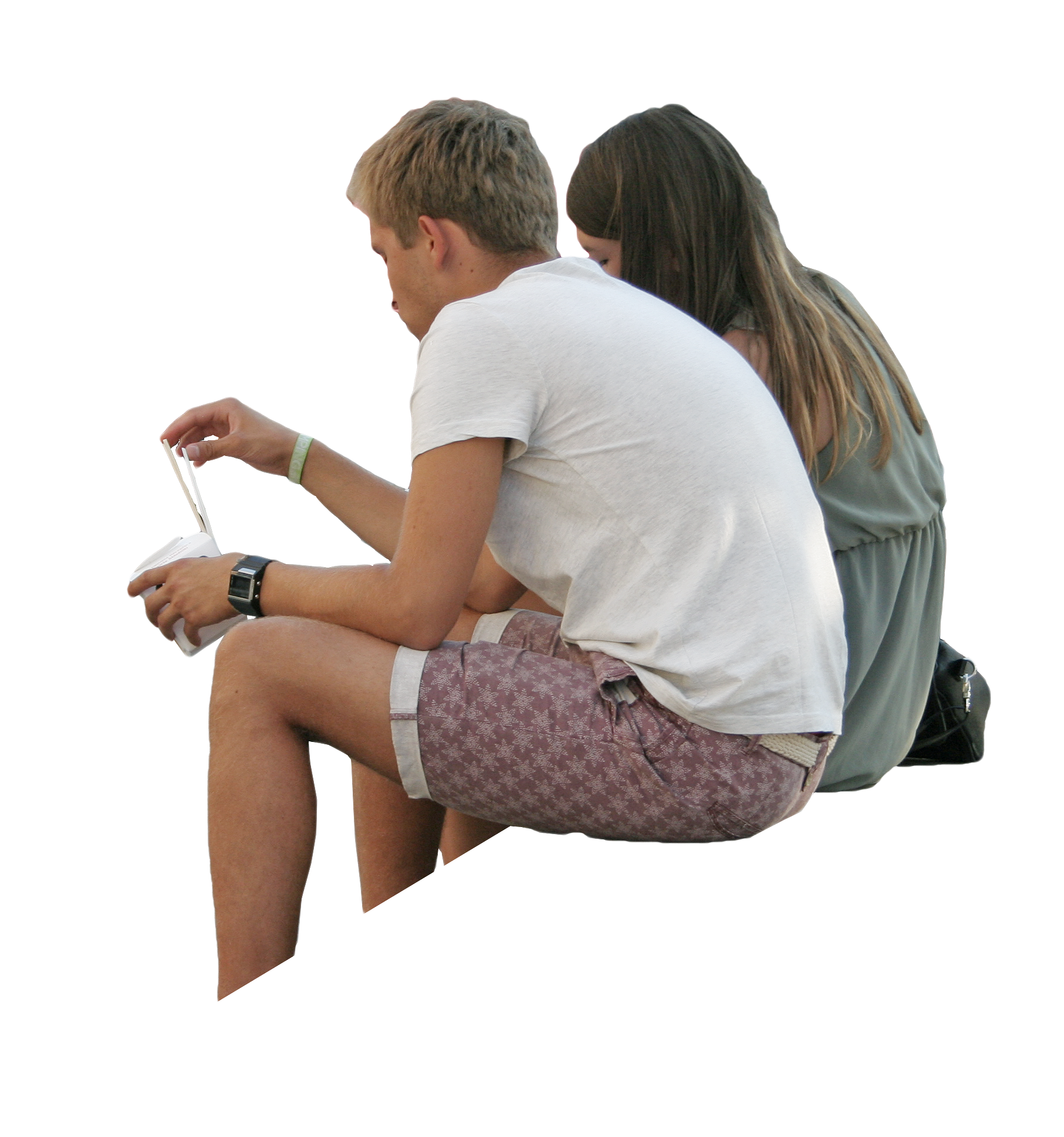 Couple sitting png. Image result for people