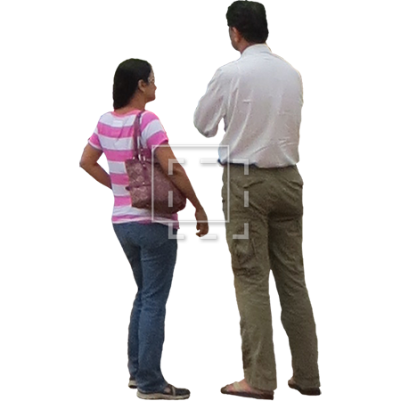 Couple standing png. In line parent category