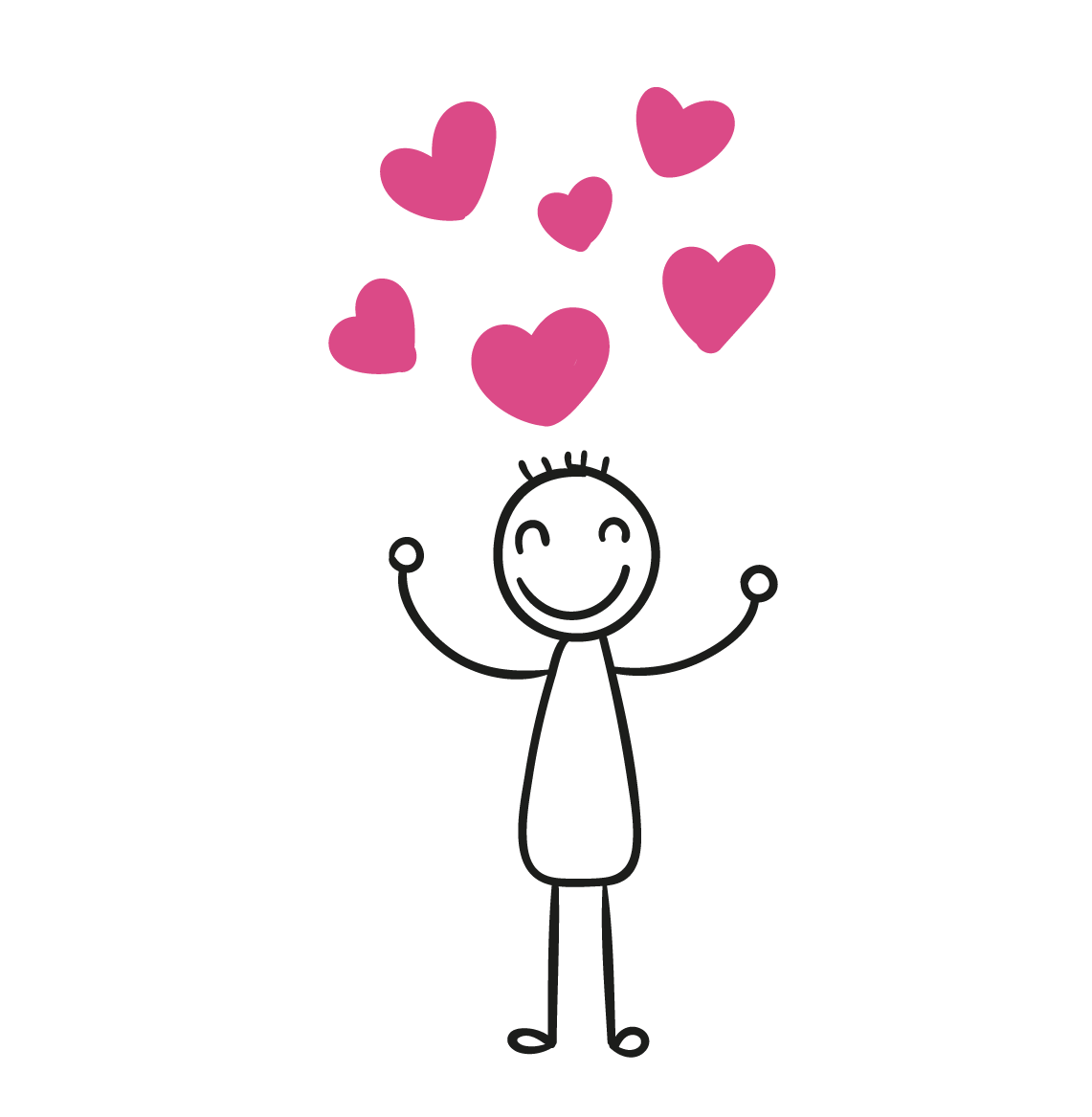 Couple stick figure png. Drawing clip art happy