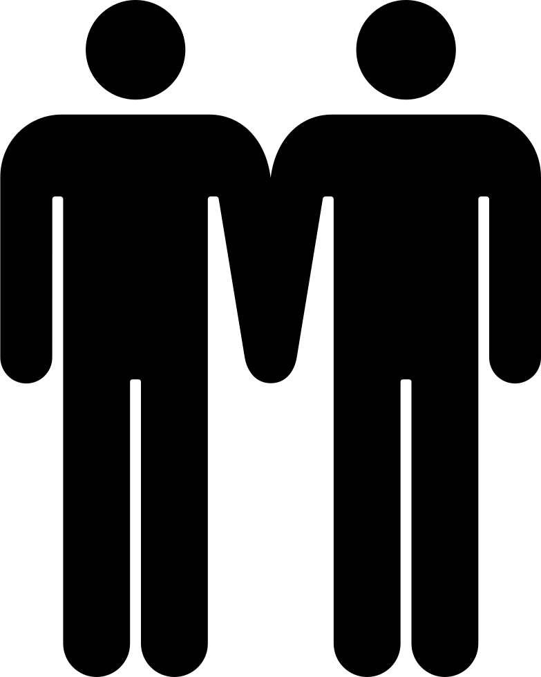 Couple symbol png. Males svg icon free