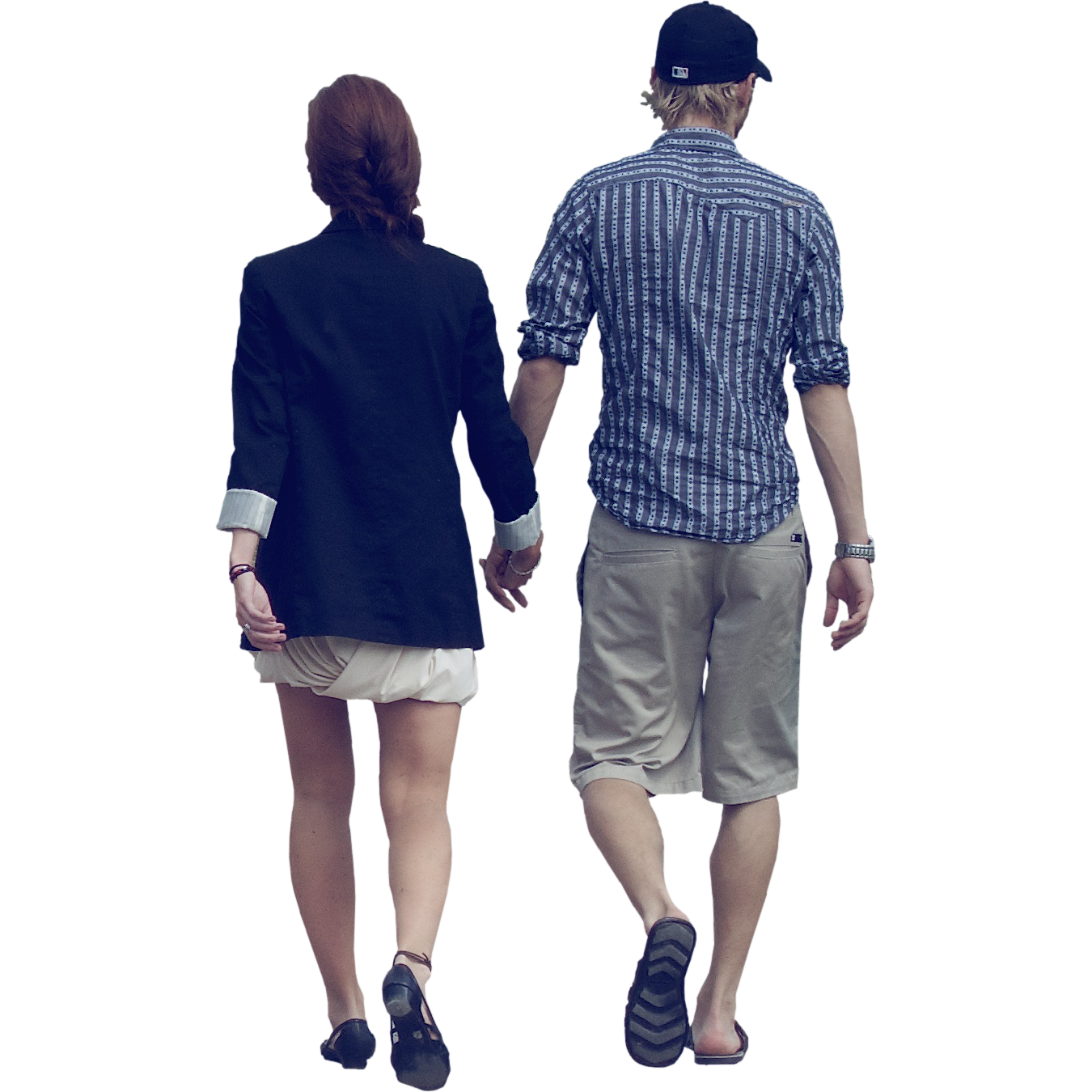 Couple walking away png. People transparent pictures free