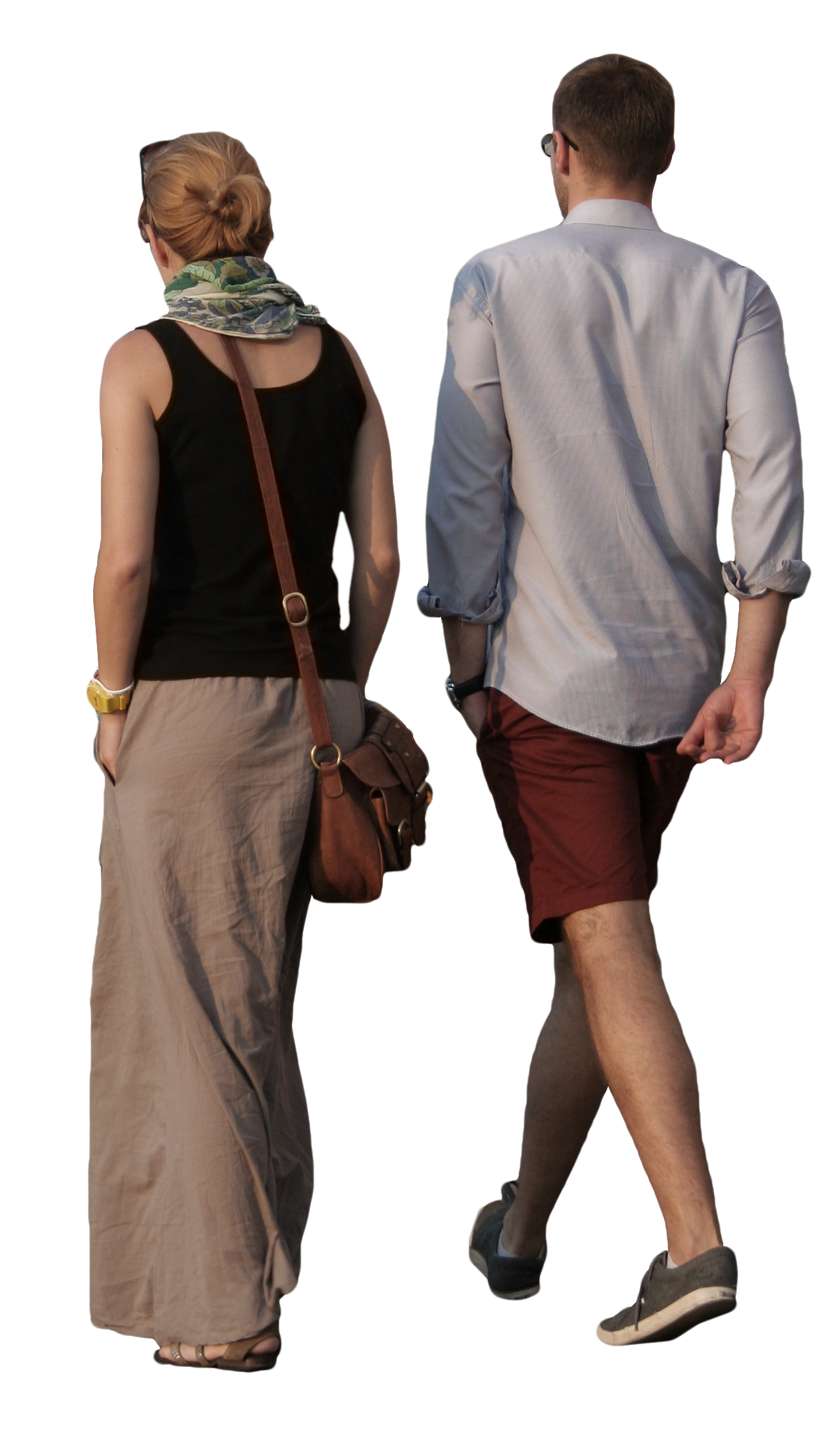 Couple walking png. Free cut out people