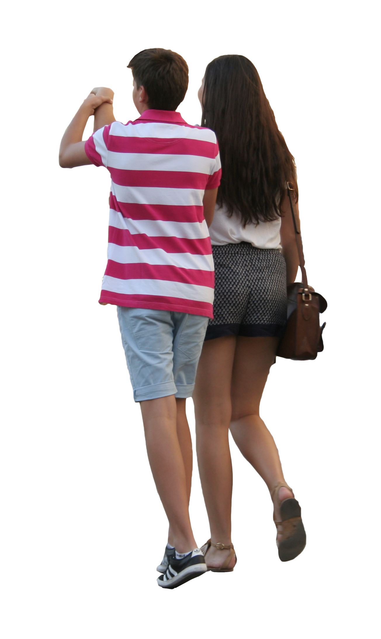 Person walking side view png. Couple free cut out