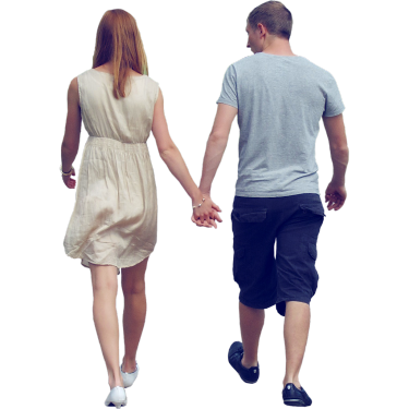 Couple walking png. Holding hands photoshop library
