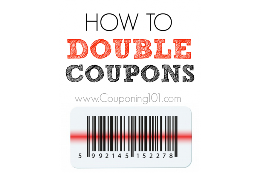 Clip coupon couponing. How to double coupons