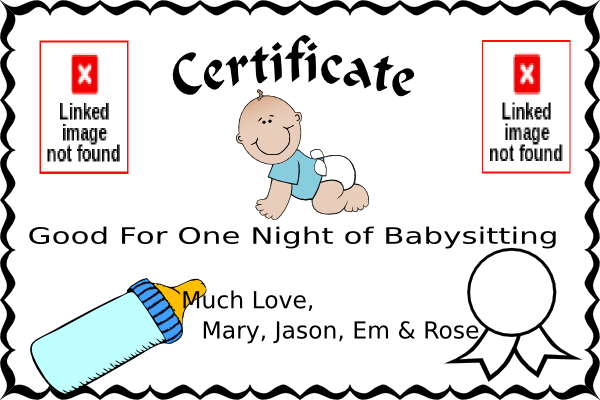 Coupon clipart printable. Physic minimalistics co babysitting