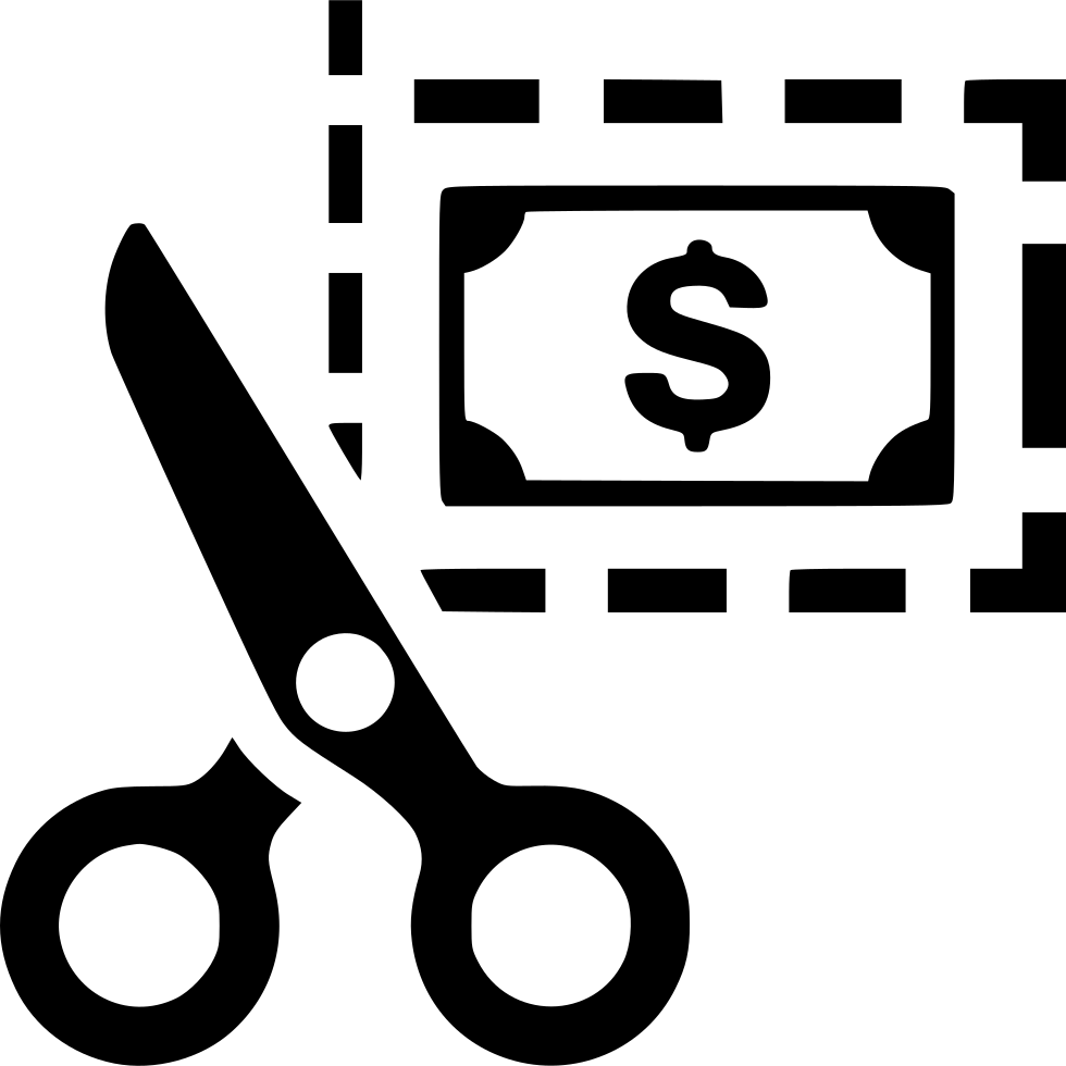 Coupon clipart scissors. Discount svg png icon