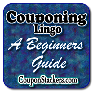 Coupon lingo png. Grocery couponers and abbreviations