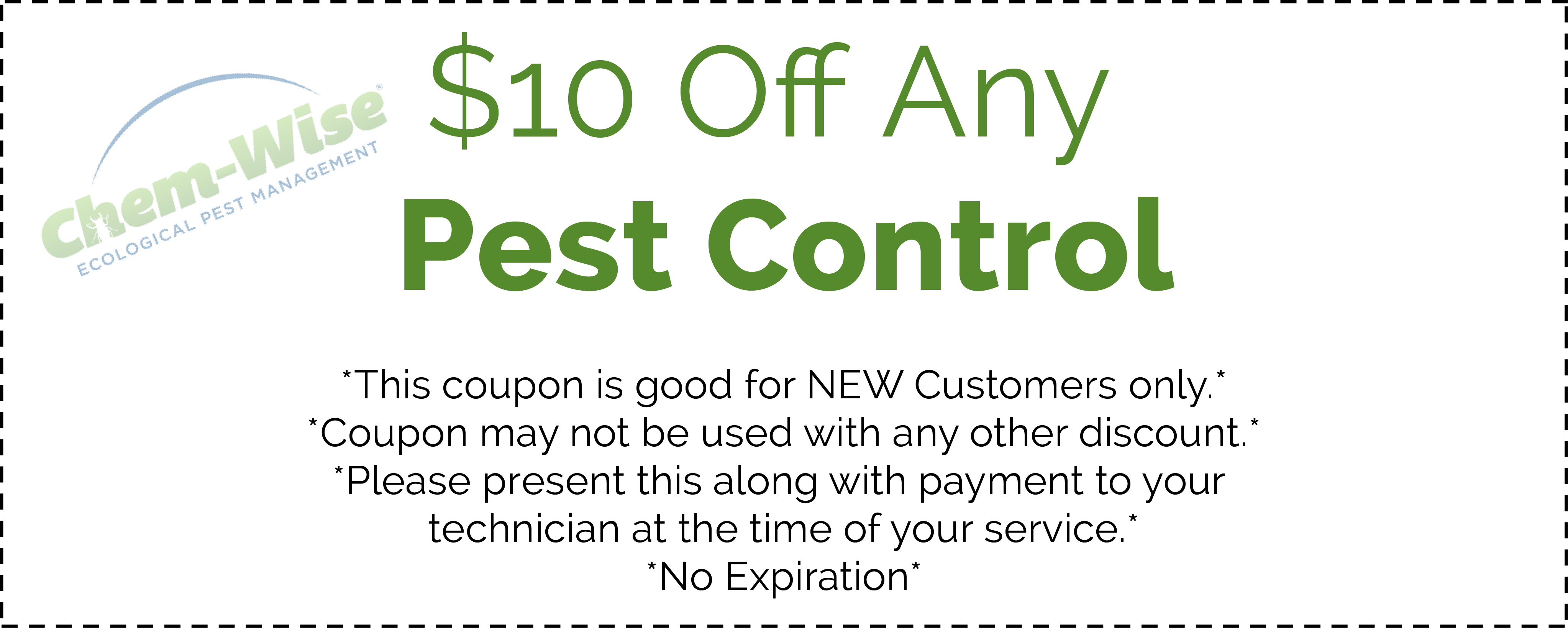 Coupon outline png. Get great pest control