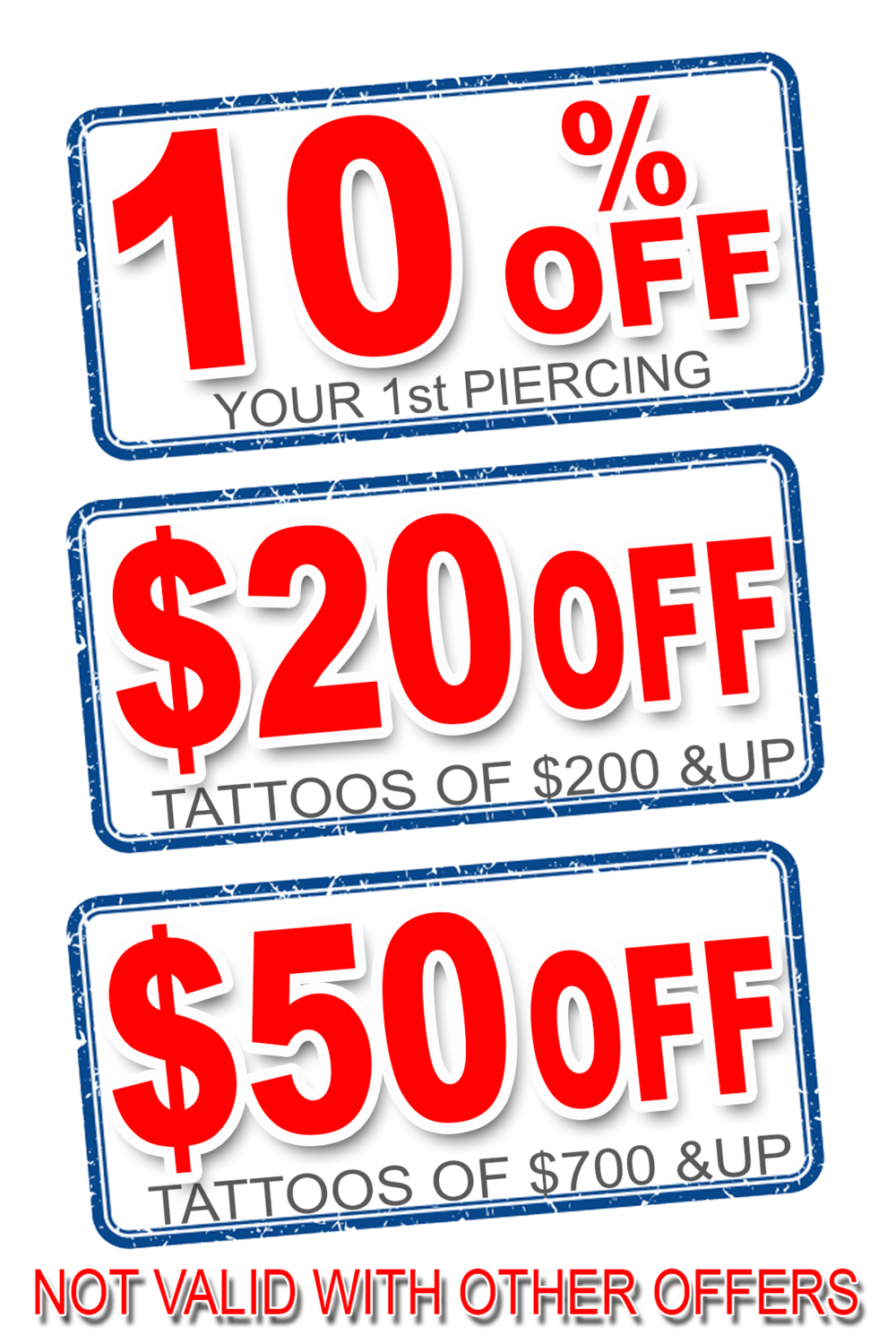 Coupon red png. Blog chicago ink tattoo
