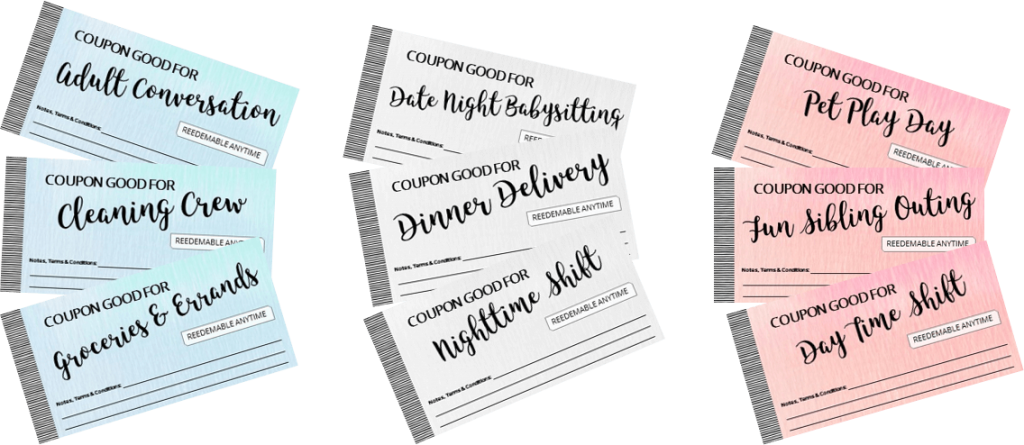 Coupon template png. I owe you give