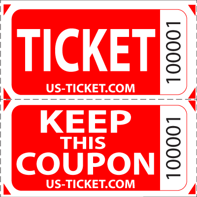 Premium double roll tickets. Drawing raffle door prize png library download
