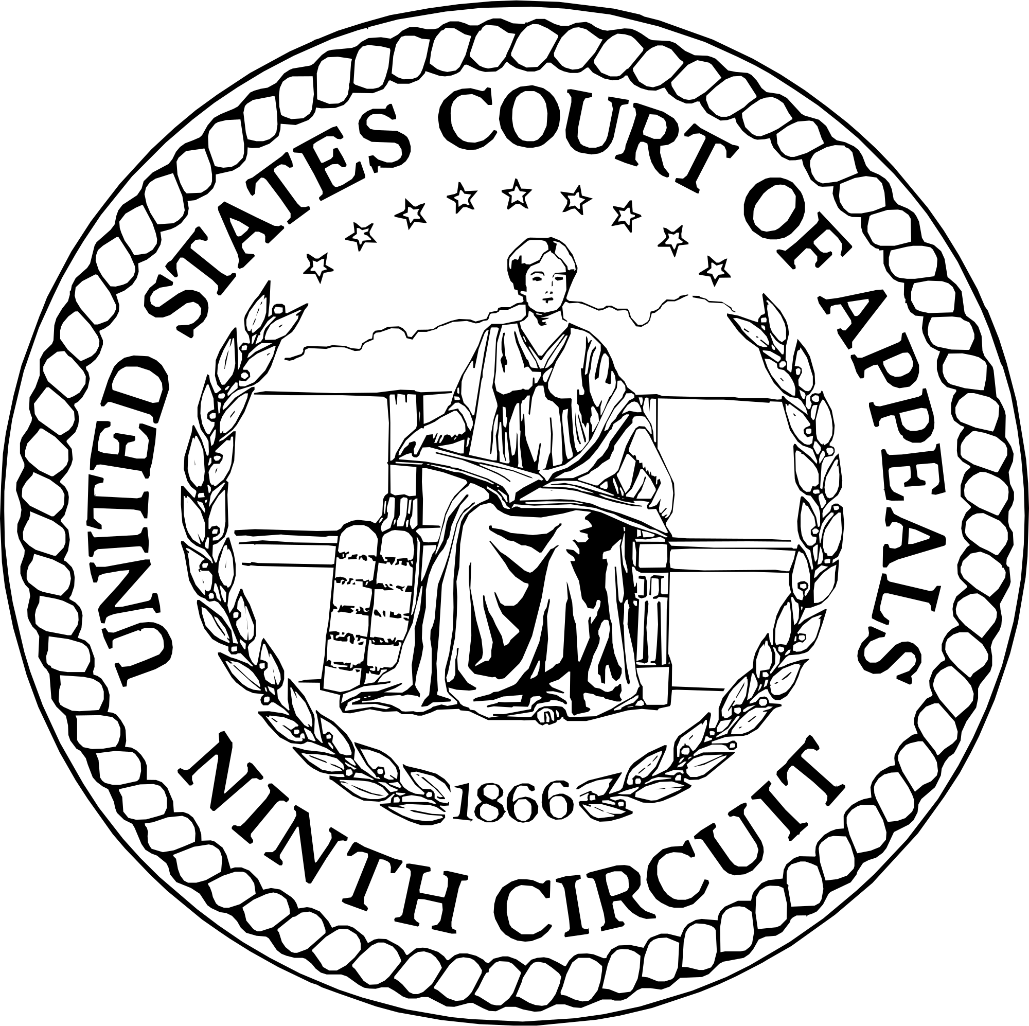 Court drawing bad. File seal of the