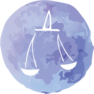 Court drawing libra zodiac. How to attract a