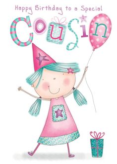 Cousins clipart greeting person. Vintage s happy birthday
