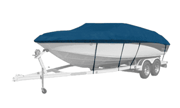 Cover clip boat. Westland covers with green