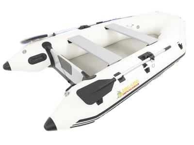 Cover clip inflatable dinghy. Island inflatables air deck
