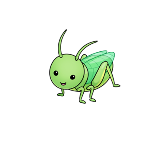 Grasshopper cricket cuteness art. Cover clip insect svg library download