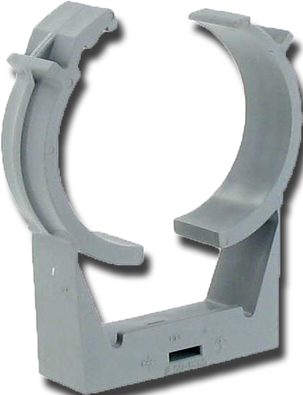 Cover clip pvc. Clic support hangers