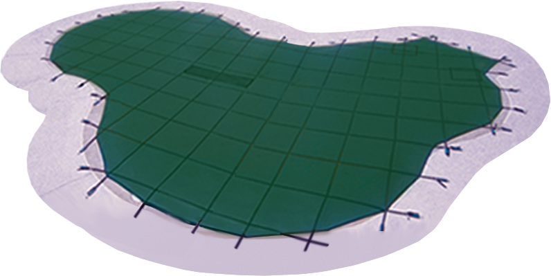 Pool clip winter cover. Covers doheny s supplies