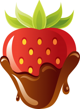 Covered clipart covered strawberry. Botanical berry png clip