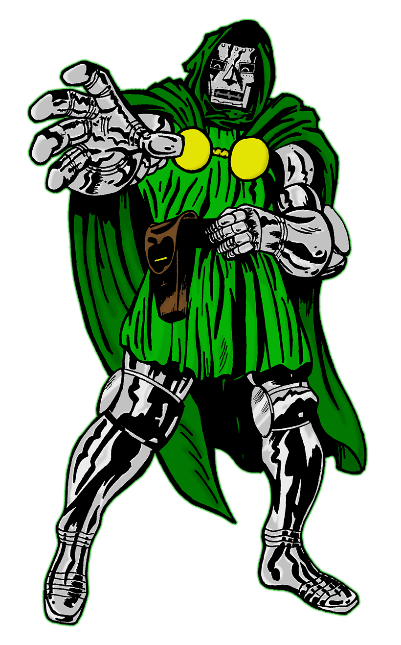 Doctor doom png. The pcg cover story