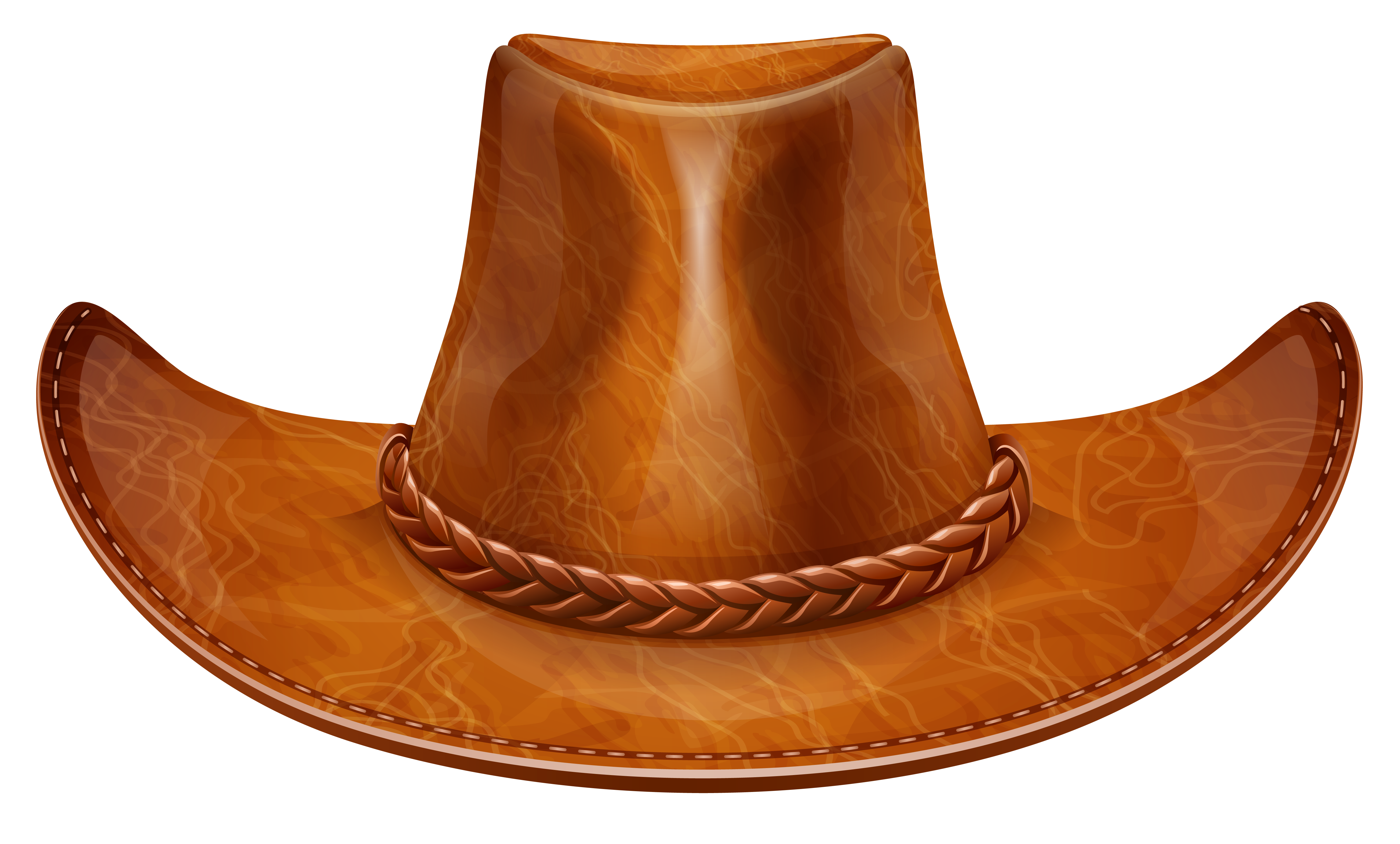 Brown cowboy png gallery. Western clipart ten gallon hat clip black and white library