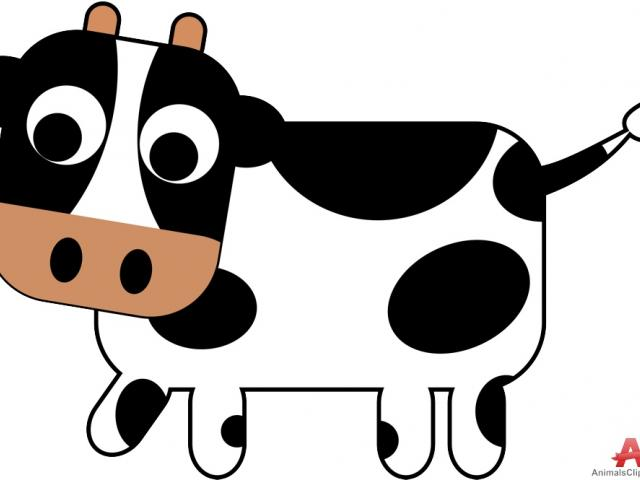 Cow claw. Free cattle clipart download