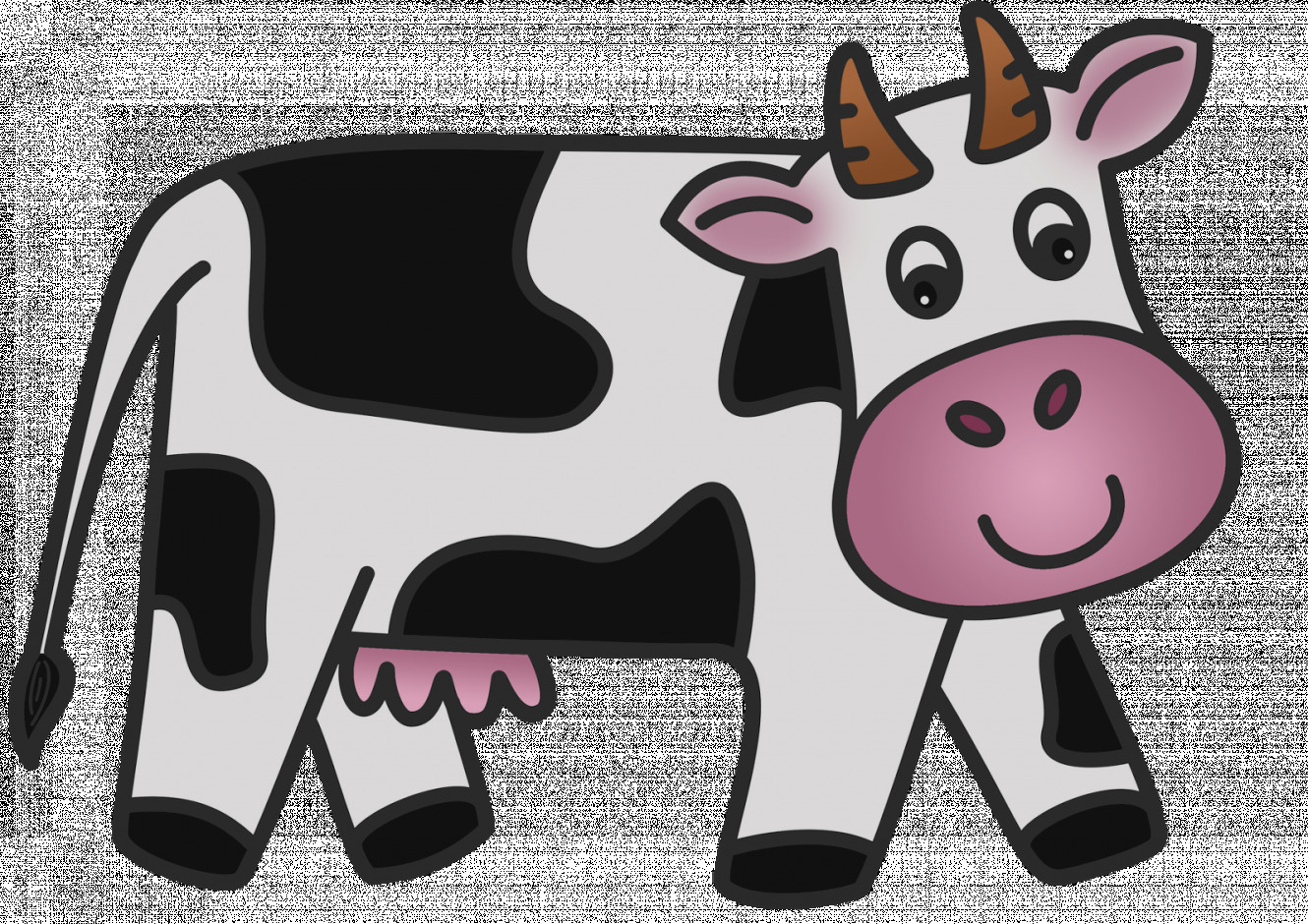 New of moving day. Cow clip art animated picture royalty free library