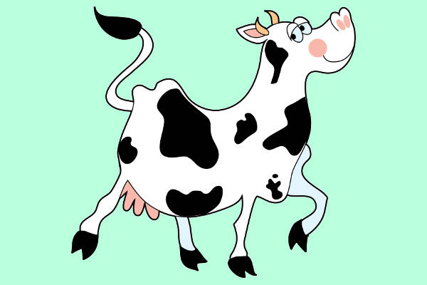 arts free vector. Cow clip art animated png royalty free