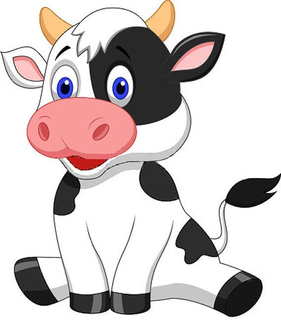 best vacas images. Cow clip art animated royalty free library
