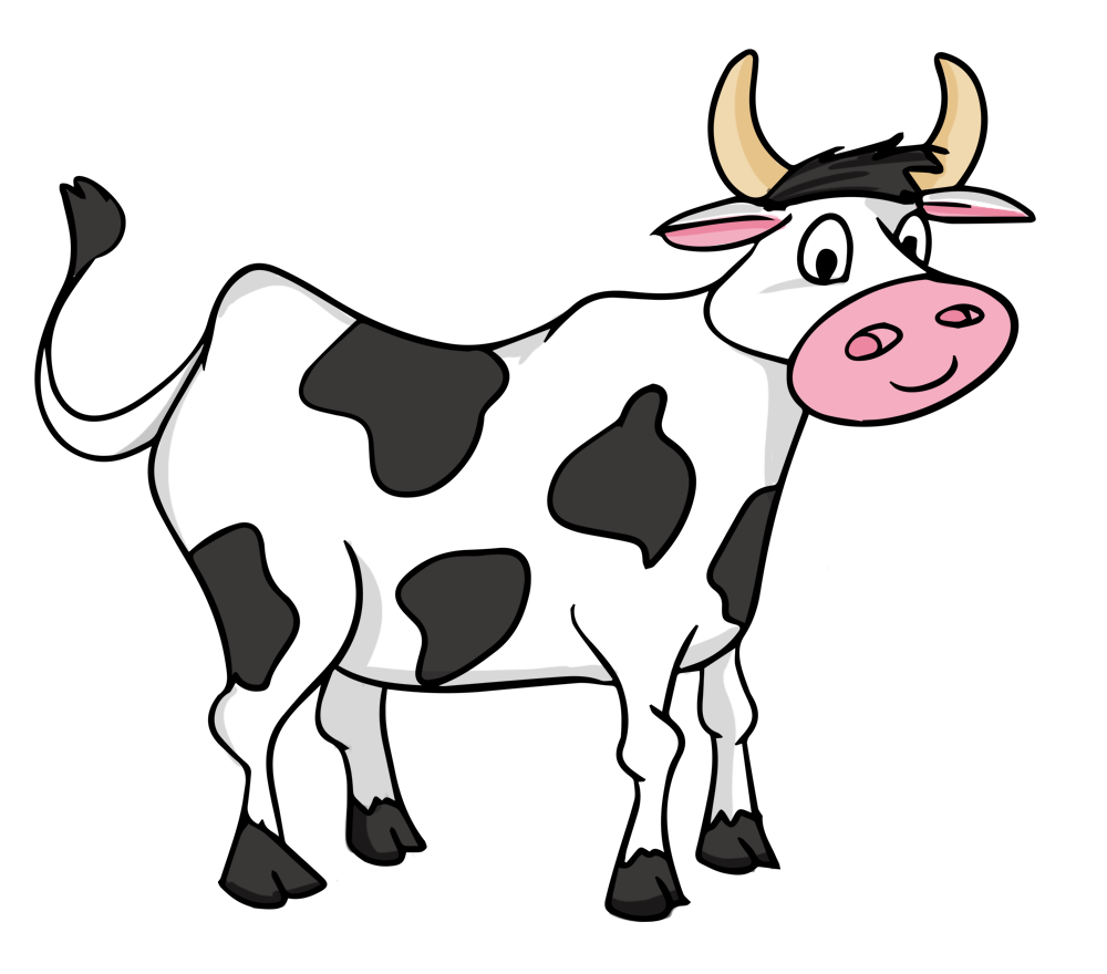 Cow clip art cartoon. Free baby cliparts download