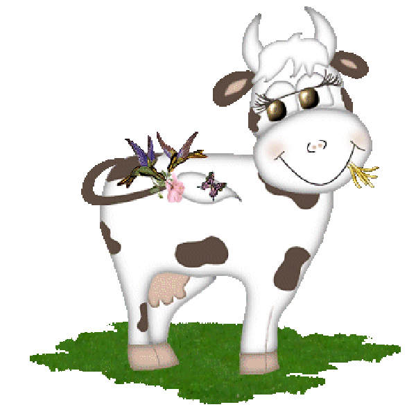 Cow clip art clear background. Funny farmyard cows images
