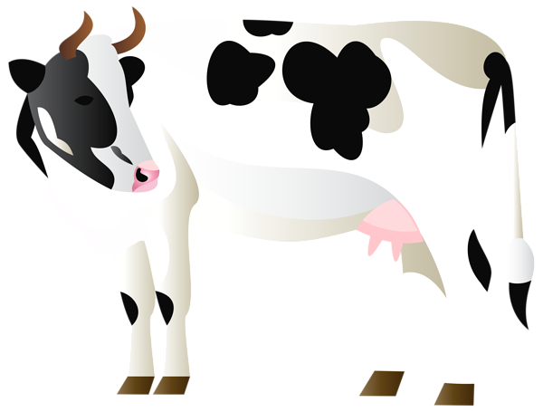 Cow clip art clear background. Download free png image