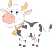 Cow clip art cute. Free clipart pictures graphics