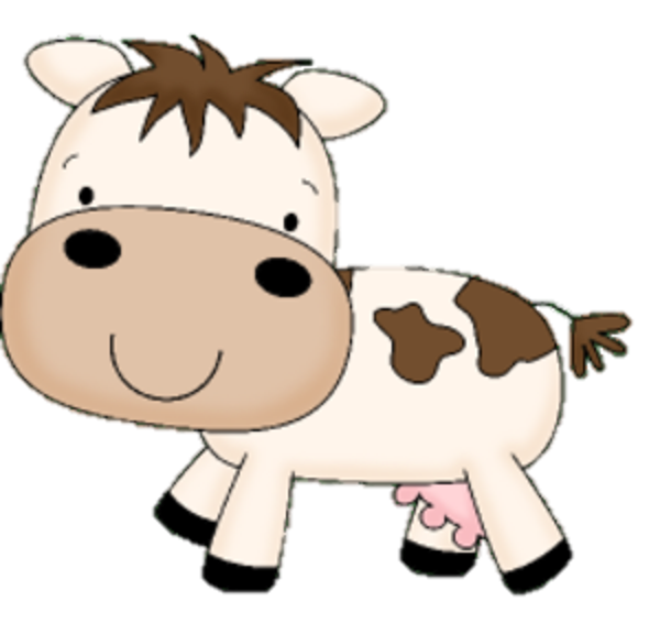 Cow clip art cute. Free baby cliparts download
