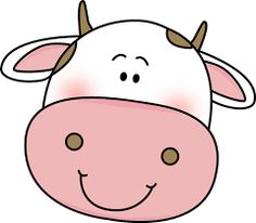 Cow clip art face. Beautiful ideas cartoon clipart