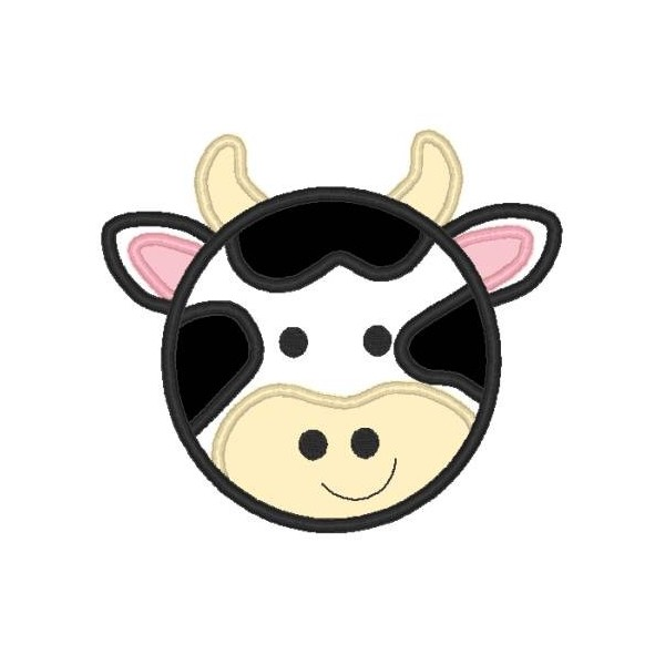 Cow clip art face. Little nobbieneezkids