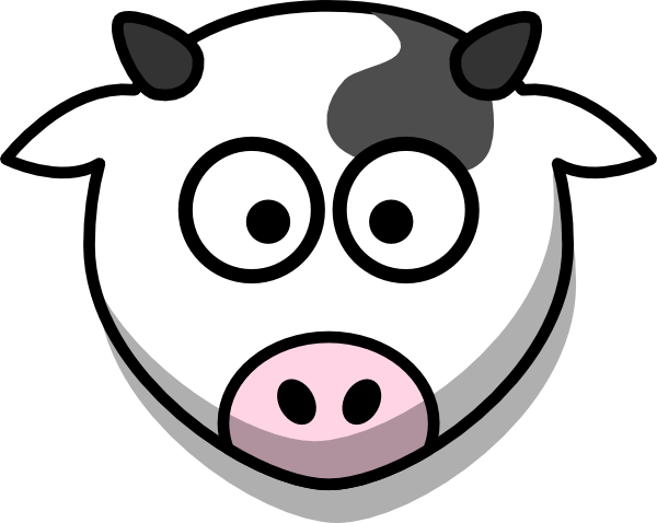 Free cliparts download on. Cow clip art face transparent download