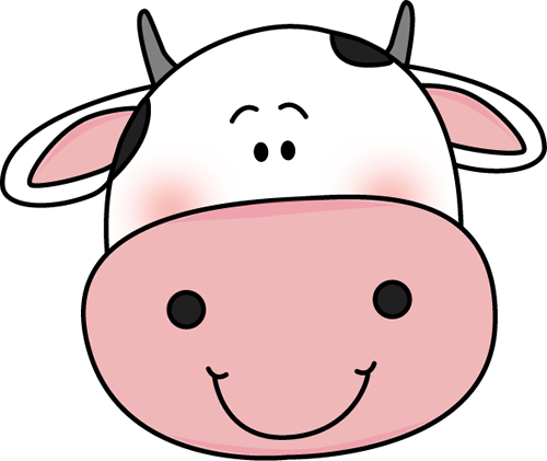 Drawing cow spot. Free face cliparts download