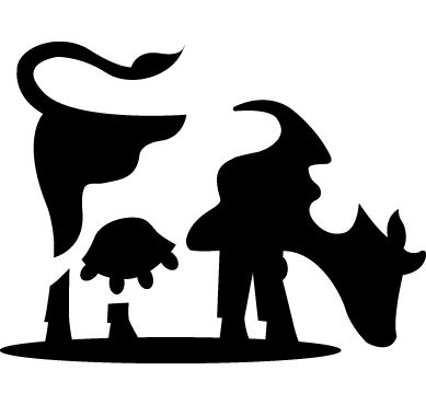 Cow clip art logo. Best images on