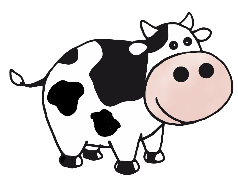 Cow clip art realistic. Free brain cliparts download