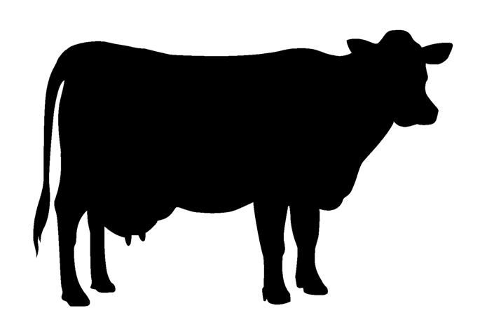 Cow clip art silhouette. Pin by gayle arvin
