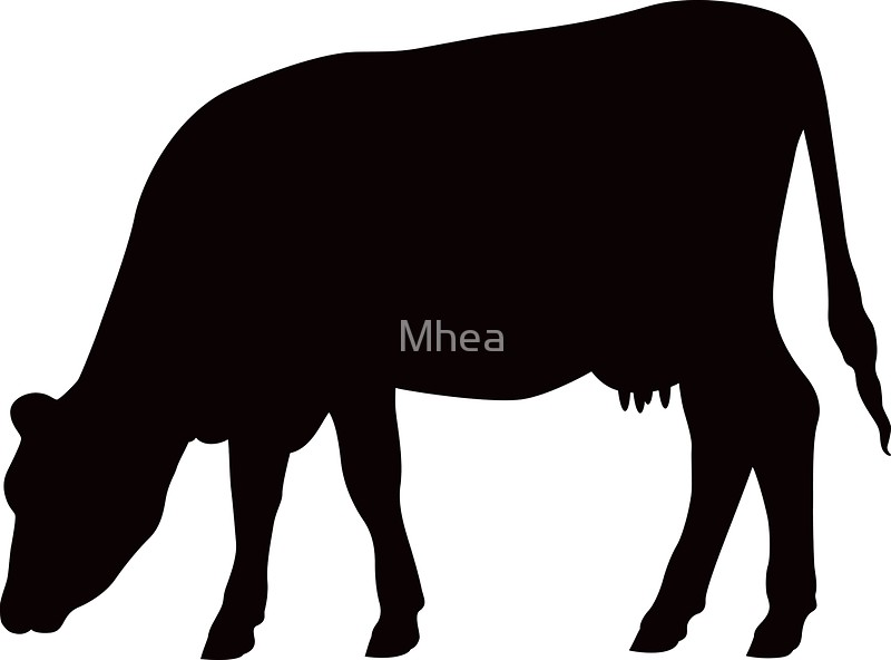 Of a at getdrawings. Cow clip art silhouette image royalty free library